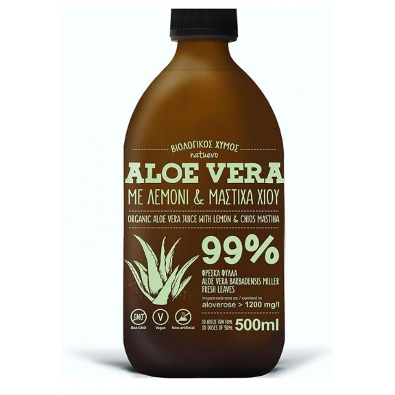Aloe Vera με λεμόνι & μαστίχα Χίου